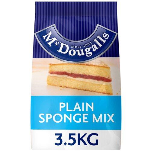 McDougalls Plain Sponge Cake Mix - 4x3.5kg