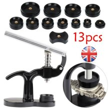 13PCS Watch Back Case Press Opener Crystal Glass Closer Fitting Repair