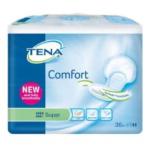 Tena Comfort Super - Pack of 36 (Incontinence Pads)