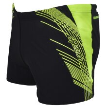 Speedo Mens Splash Swimwear Fitness Training Swimming Shorts Trunks - Black