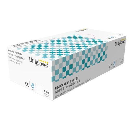 UNICARE Premium Nitrile Powder Free Gloves - Large [GU0044]
