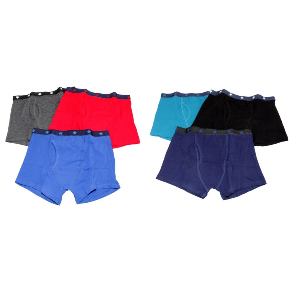 5-6 years 6 Pairs of Boys Tom Franks Boxer Shorts Briefs Underwear