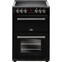 Belling Farmhouse60E Free Standing  Electric Cooker with Ceramic Hob 60cm