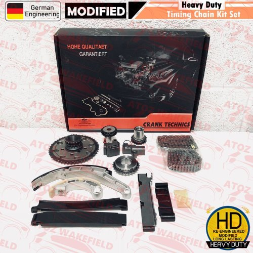 For Nissan Navara Pathfinder 2.5 TD Diesel D40 R51 YD25DDTi Timing chain kit >09