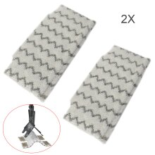 2 Pack Pads Replacement Shark S6001UK S6003UK S3973 Steam Mop Pads