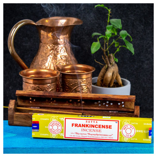 Frankincense Incense Sticks 180grs.  (12 boxes of 15 grams each)