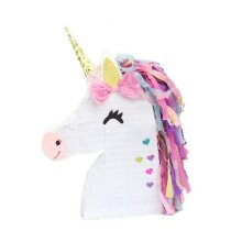 Large Unicorn Pinata Head Traditional Childrens Birthday Party Game