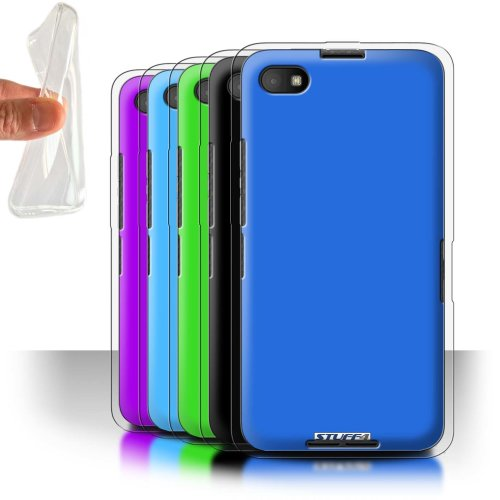 Colours Blackberry Z30 Phone Case Transparent Clear Ultra Soft Flexi Silicone Gel/TPU Bumper Cover for Blackberry Z30