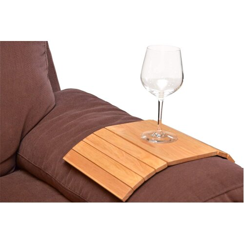 Apollo Flexible Wooden Sofa Arm Drinks Tray
