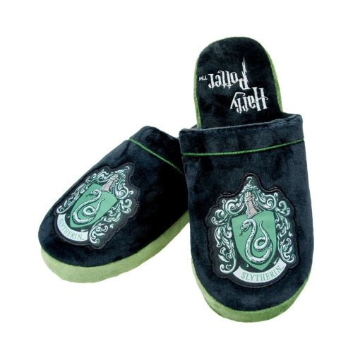Harry Potter Slytherin Adult Mule Slippers