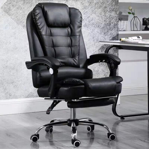 Luxury Massage Computer Chair Office Gaming Swivel Recliner Leather
