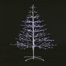 UK-Gardens 60cm SILVER Twig Tree BO BW Lights