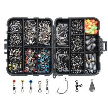 Fishing Accessories Kit Including Jig Hooks