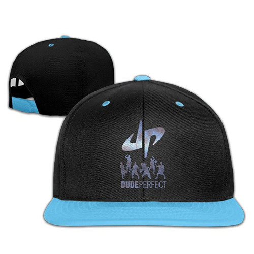 Kid's Dude Perfect 5 Best Friends And A Panda Adjustable Hip-hop Cap