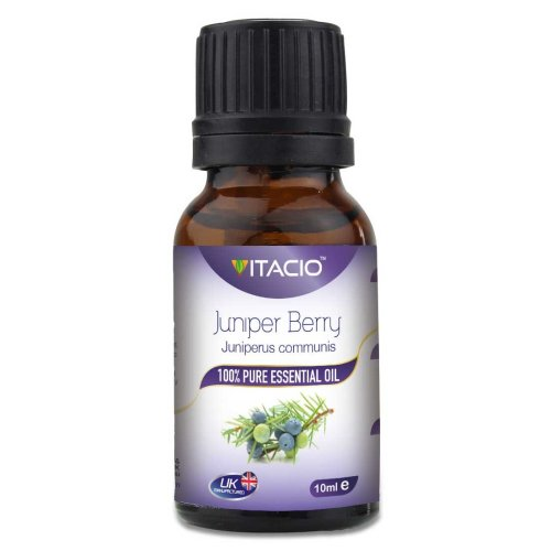 Pure & Natural Juniper Berry Essential Oil 10ml Aromatherapy VitacioUK