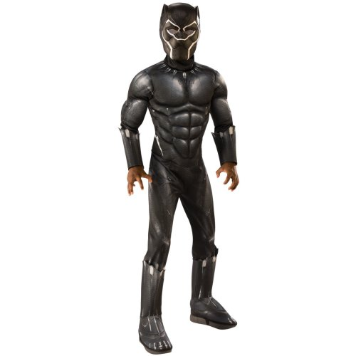 Kids Official Deluxe Black Panther Costume | Avengers Endgame Superhero