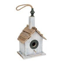 Wooden Bird House 38cm