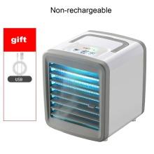 Mini Air Conditioner Multifunctional Desktop Cooling Fan USB Charging