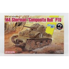 Dragon Sherman M4 Tank Composite Hull Pt0 Military 1942 - 1:35