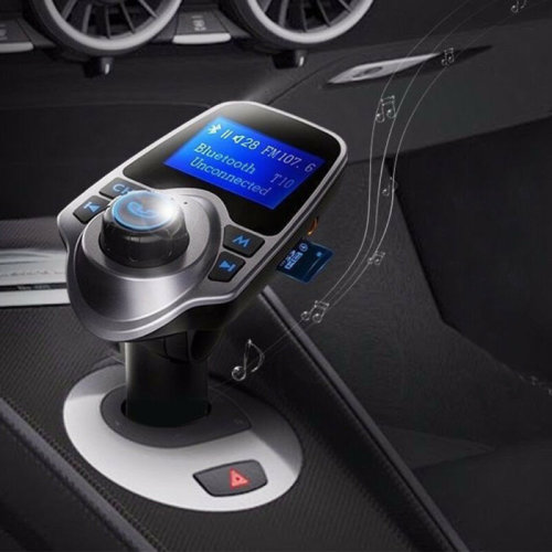 Bluetooth FM Transmitter Car Radio Adapter MP3 Player USB Charger