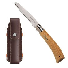OPINEL No 12 pruning saw 12cm carbon steel - pull action with Opinel pouch