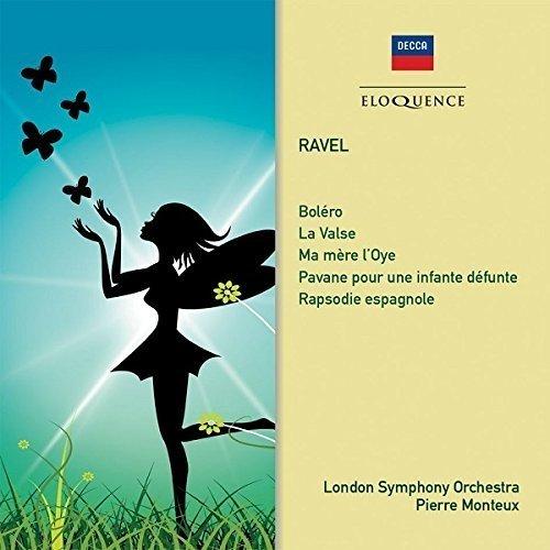 Pierre Monteux London Symphony Orchestra - Ravel: Ma Mere Loye; Bolero; La Valse; Pavane; Rapsodie Espagnole [CD]