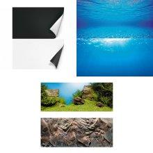Juwel Aquarium Double Sided Poster Background