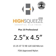 2.5x4.5 HighSqueeze Rosin Micron Extraction Filter Bags