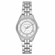 Michael Kors Lauryn Ladies Watch MK3900¦Crystal Mother of Pearl Dial¦Stailess