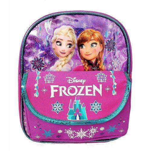 "Mini Backpack - Disney Frozen - Elsa and Anna 10"" School Bag New 009380"