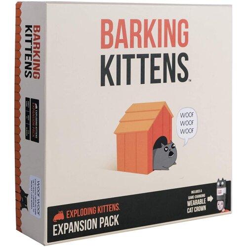 Exploding Kittens EKG-3EXP Family-Friendly Party Card Games