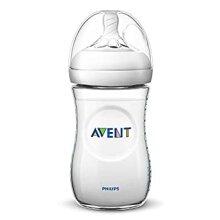 Philips Avent SCF033 / 17 - 260 ml natural baby bottle  Transparent