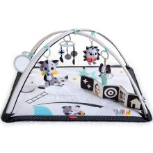Black and White Gymini, Baby Play Mat with Modern Design, 0m +, 93 x 85 x 49 cm, Magical Tales
