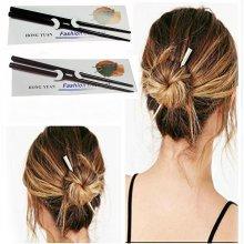 7'' Wooden Hair Sticks Hair Pin Women Vintage Hair Accessories –2 pack UK SELLER