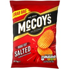 McCoys Salted Crisps - 26x47.5g