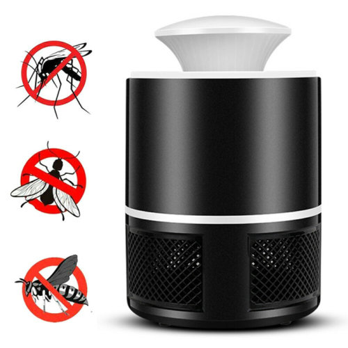 (Black) Indoor Electric Insect Killer Fly Lamp Mosquito Bug UV/LED Insect Light