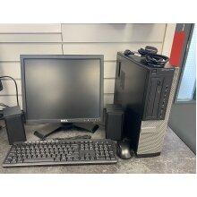 Dell PC Full Set up - Dual Core 4GB RAM 500GB HARD DRIVE - Refurbished
