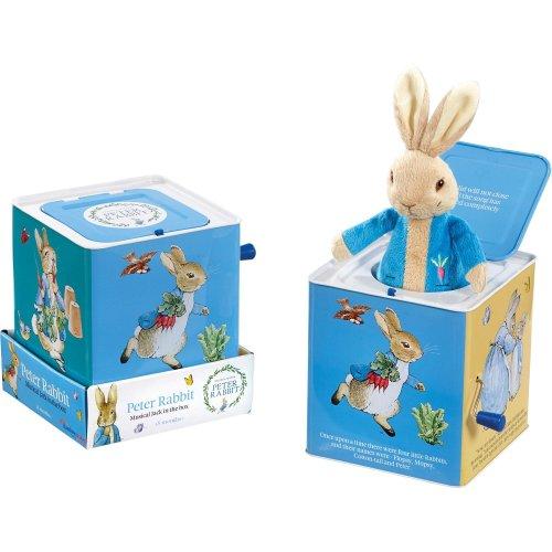 Rainbow Designs Peter Rabbit Jack In The Box