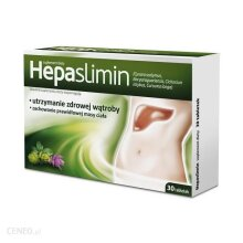 Hepaslimin 30 tab Liver Support Weight Loss Wsparcie watroby utrata masy ciala