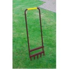 Robust Hollow Tine Lawn Aerator
