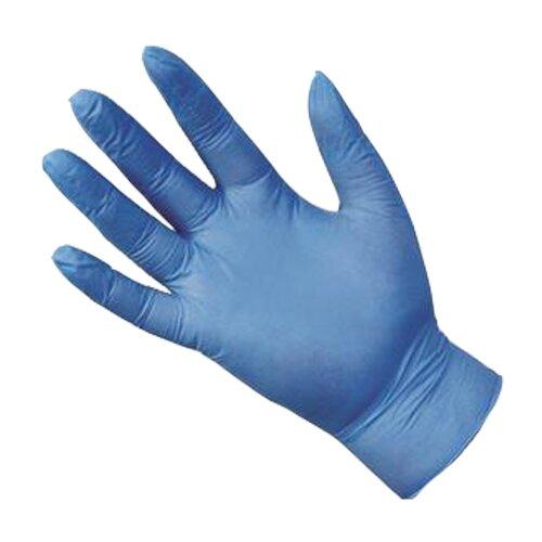 (Medium) 100pk Ultraflex Blue Powder-Free Nitrile Gloves
