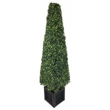 Artificial 120cm Boxwood Tower Plant Potted Realistic Tree