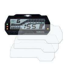 Speedo Angels Dashboard Screen Protector for YAMAHA R-125 (2019-) - 3 x Ultra Clear