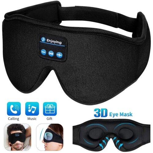 Sleep Mask 3D Upgraded Sleep Headphones Bluetooth Eye Mask for Sleeping
