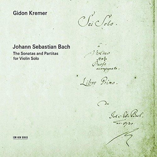 Ohann Sebastian Bach - Bach - the Sonatas and Partitas for Violin Solo [CD]