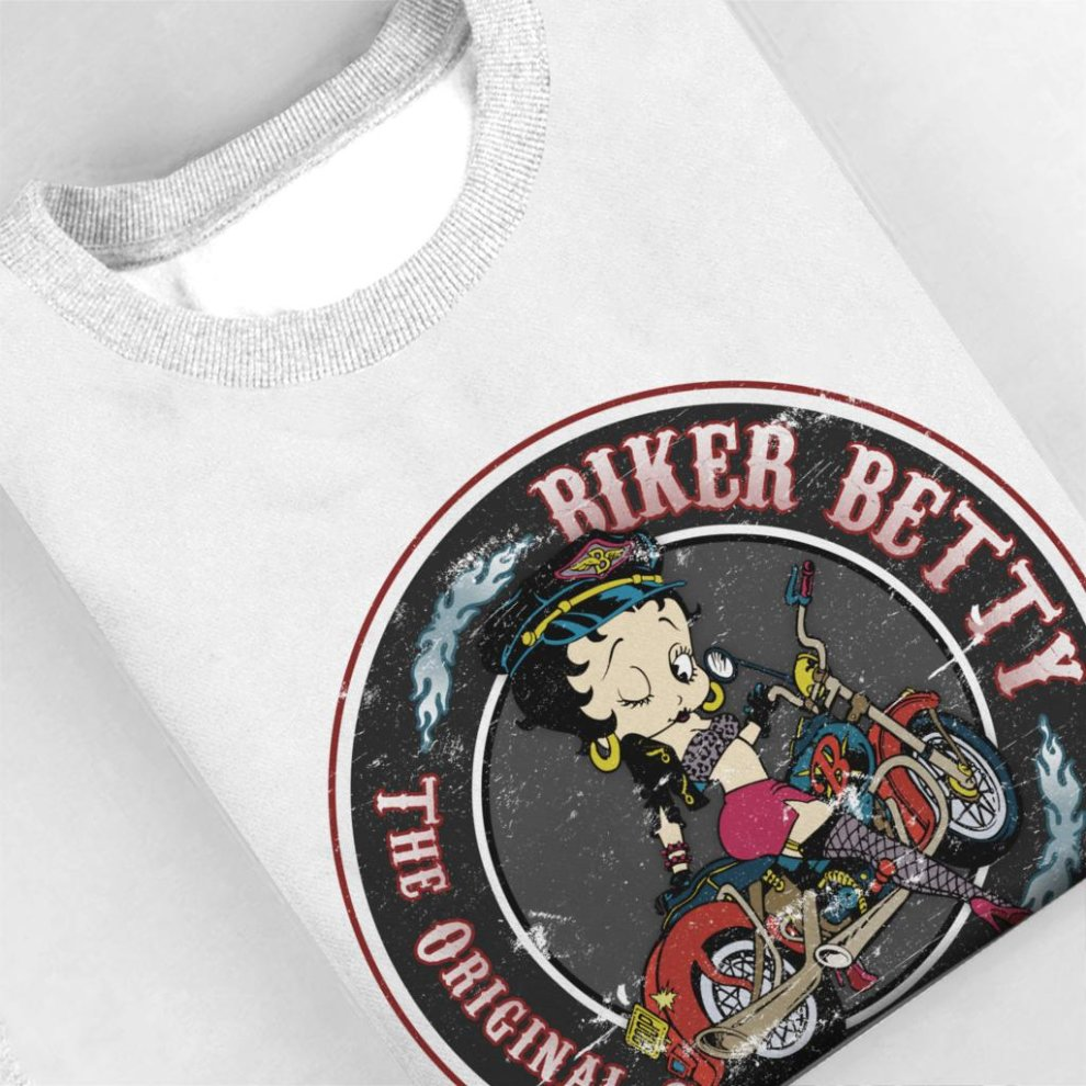 Comics Kingdom Betty Boop Pretty Smart Mens Sweatshirt
