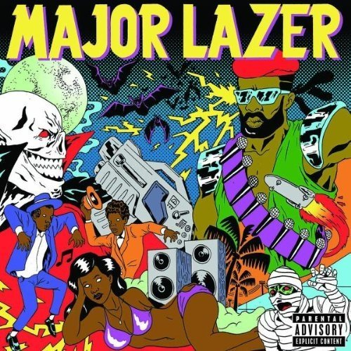 Major Lazer - Guns Dont Kill People...lazers Do [CD]