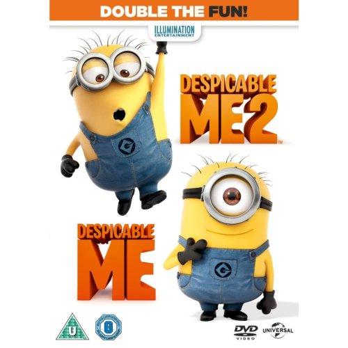 Despicable Me / Despicable Me 2 DVD [2013]