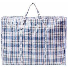 JUMBO LAUNDRY BAGS Zipped Reusable Large Strong Shopping Storage Bag Moving XXL