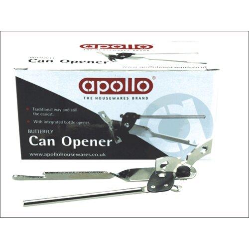 Apollo Housewares Traditional Tin Can Opener Steel